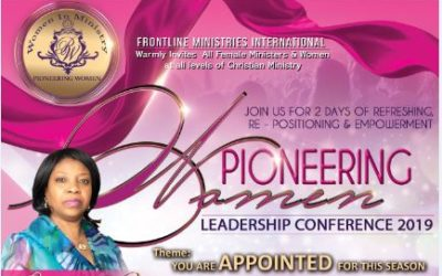Pioneering Women Leadership Conference 2019