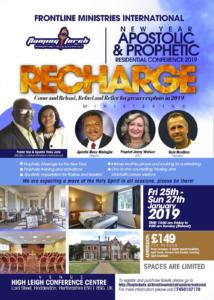 Recharge- New Year Apostolic & Prophetic Residential Conference